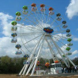 FERRIS WHEEL 25 MT bis amusement ride0