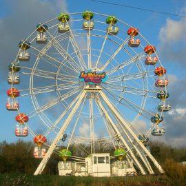 FERRIS WHEEL 25 MT bis amusement ride1