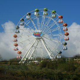 FERRIS WHEEL 25 MT bis amusement ride2