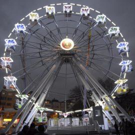 FERRIS WHEEL 25 MT bis amusement ride5