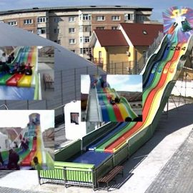 Happy Slide amusement rides7