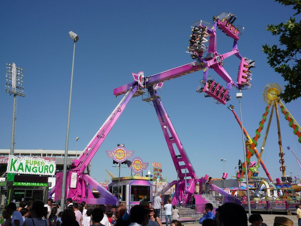 Loop Fighter Technical Park Amusement Rides And