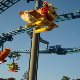 babyaviator18 amusement rides