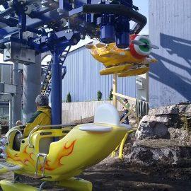 babyaviator7 amusement rides