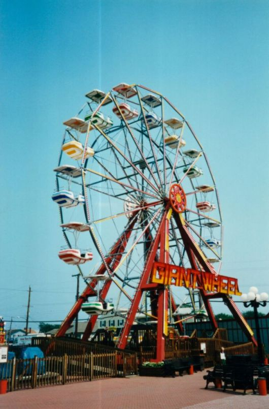 Ferris Wheel 20 Mt Technical Park Amusement Rides And