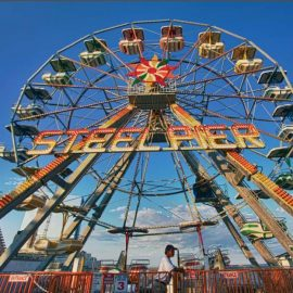ferris wheel  20 amusement ride3
