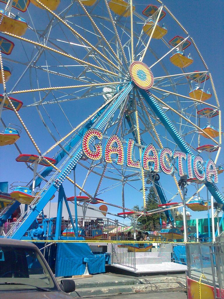 Trailer Parks For Sale >> FERRIS WHEEL 20 MT - Technical Park - Amusement Rides and ...