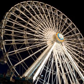 ferris wheel 40mt amusement rides4