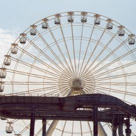 ferris wheel 40mt amusement rides5