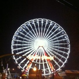 ferris wheel 40mt amusement rides6
