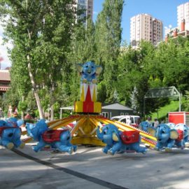 red baron elephant amusement rides1