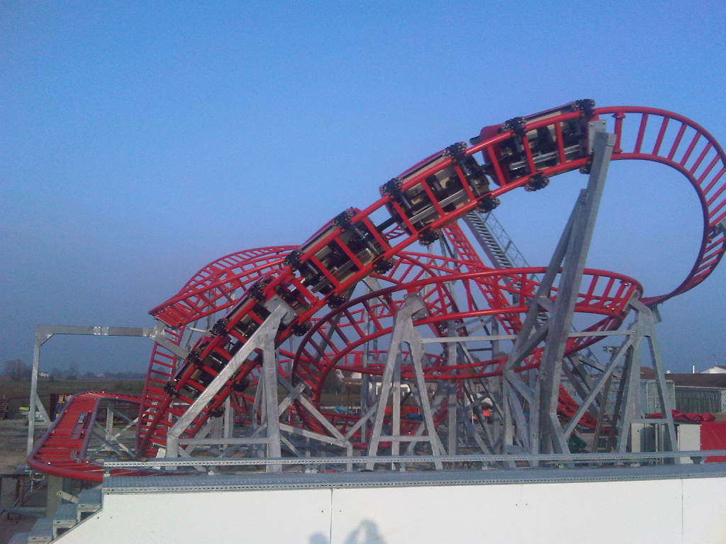 roller coaster - rock'n'roll - technical park - amusement rides and