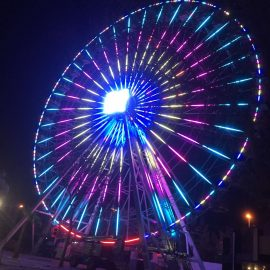 technical park amusement ride ferris wheel 40mt3