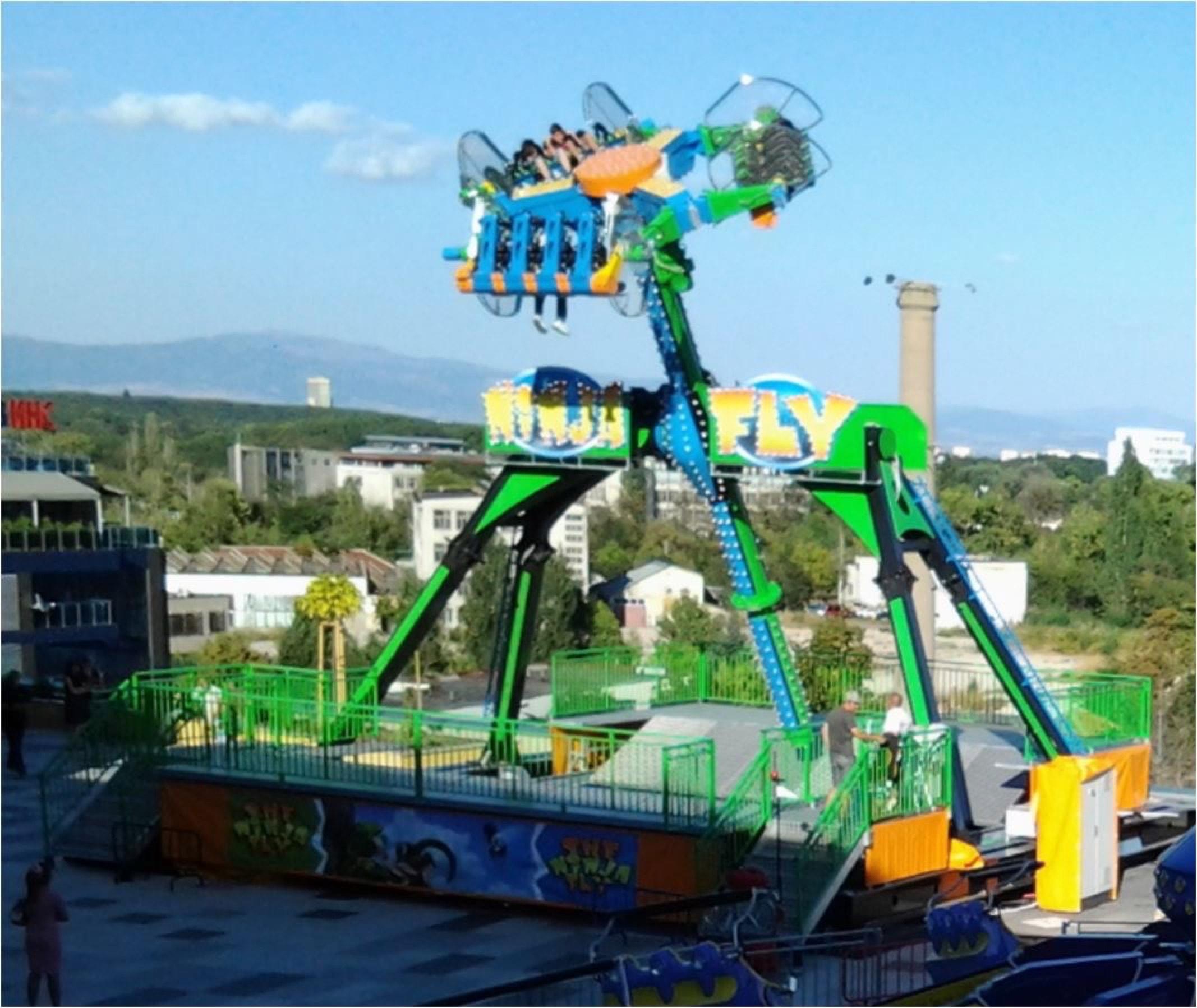 Mini Loop Fighter - The Ninja Fly - Technical Park ...
