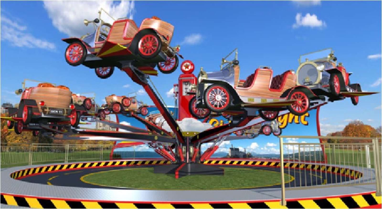 Amusement Park Ride Car For Sale