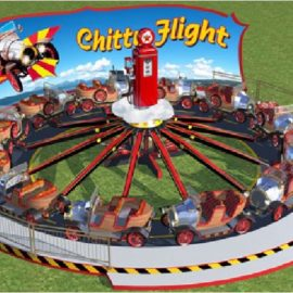 technical park amusement ride chitty fly4