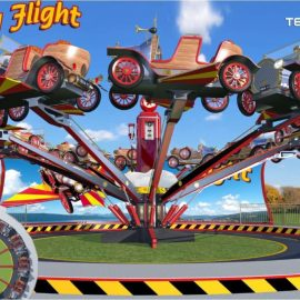 technical park amusement ride chitty fly5