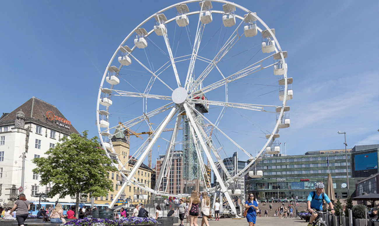 Ferris Wheel Technical Park Amusement Rides And